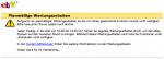 Wartungsarbeiten ebay.de